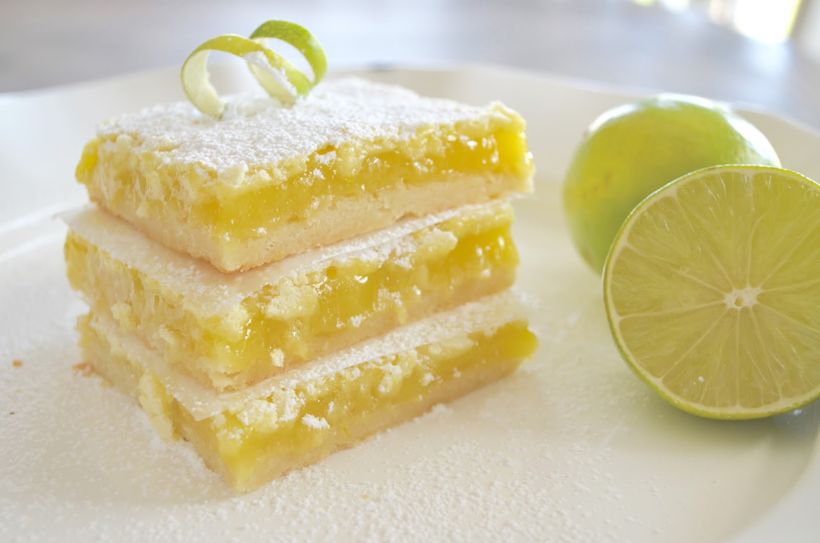 Easy-Peasy Key Lime Bars