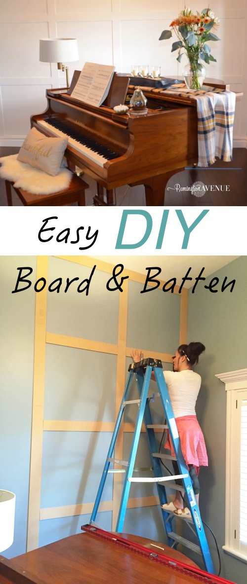 board and batten, diy board and batter, cheap board and batten, board and batten wall, tutorial, moulding, how to, inexpensive board and batten,
