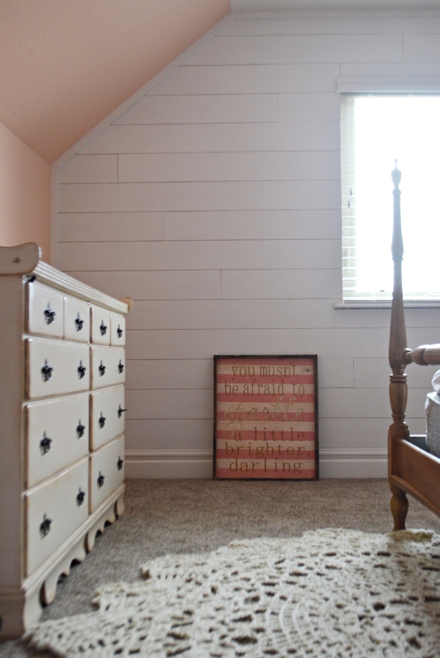 faux shiplap wall 3