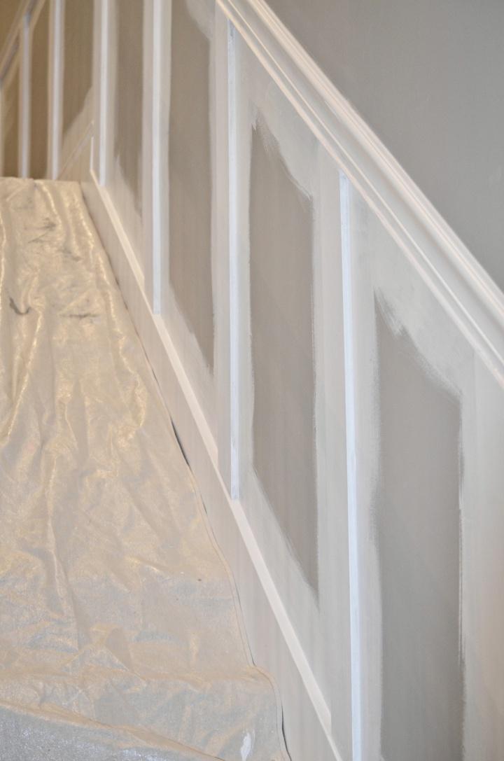 stair case molding primer 2