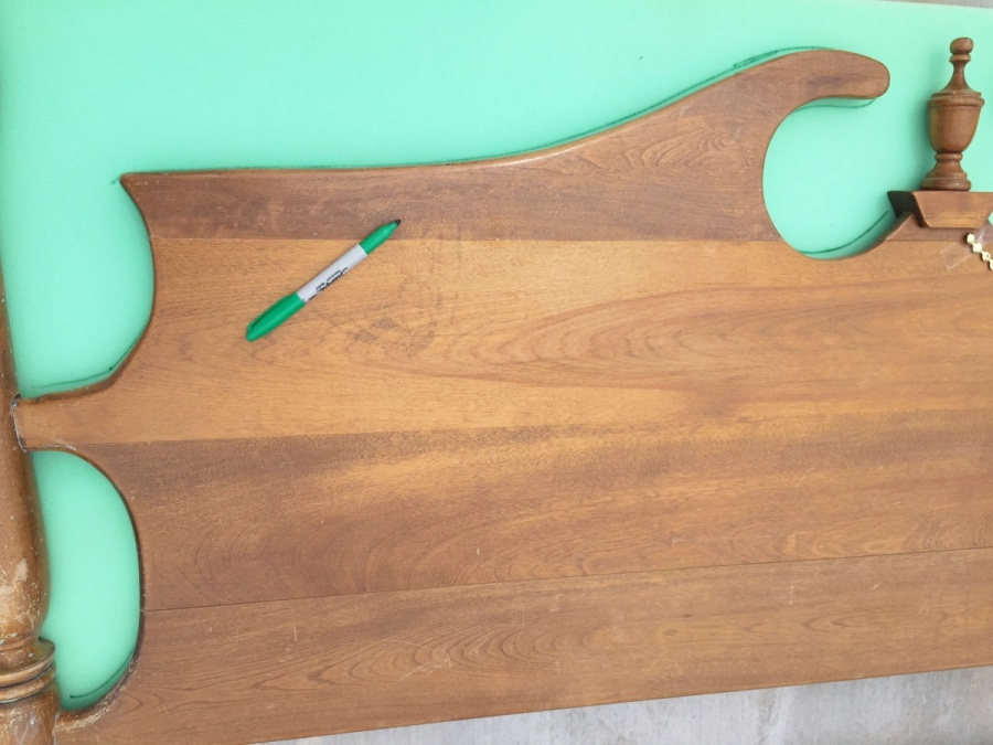 trace vintage headboard