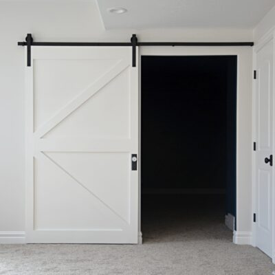 $50 DIY British Brace Barn Door