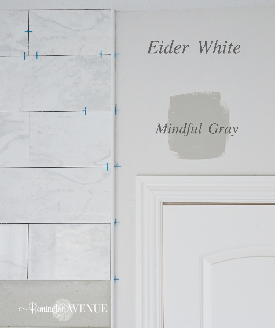Warm gray wall paint - Eider White Sherwin Williams 187 Simple Home Design