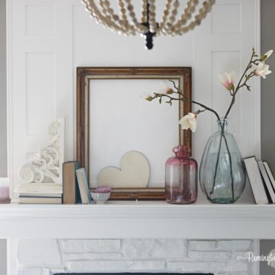 Valentine Mantel & The Ultimate His/Her Valentine Gift Guide 2017