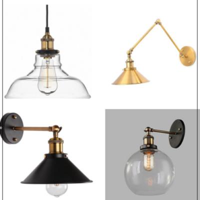 10 Industrial Farmhouse Lights $25-$50