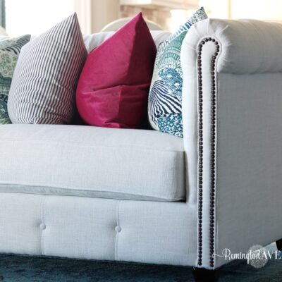 Living Room Design Board & New Sofa Reveal