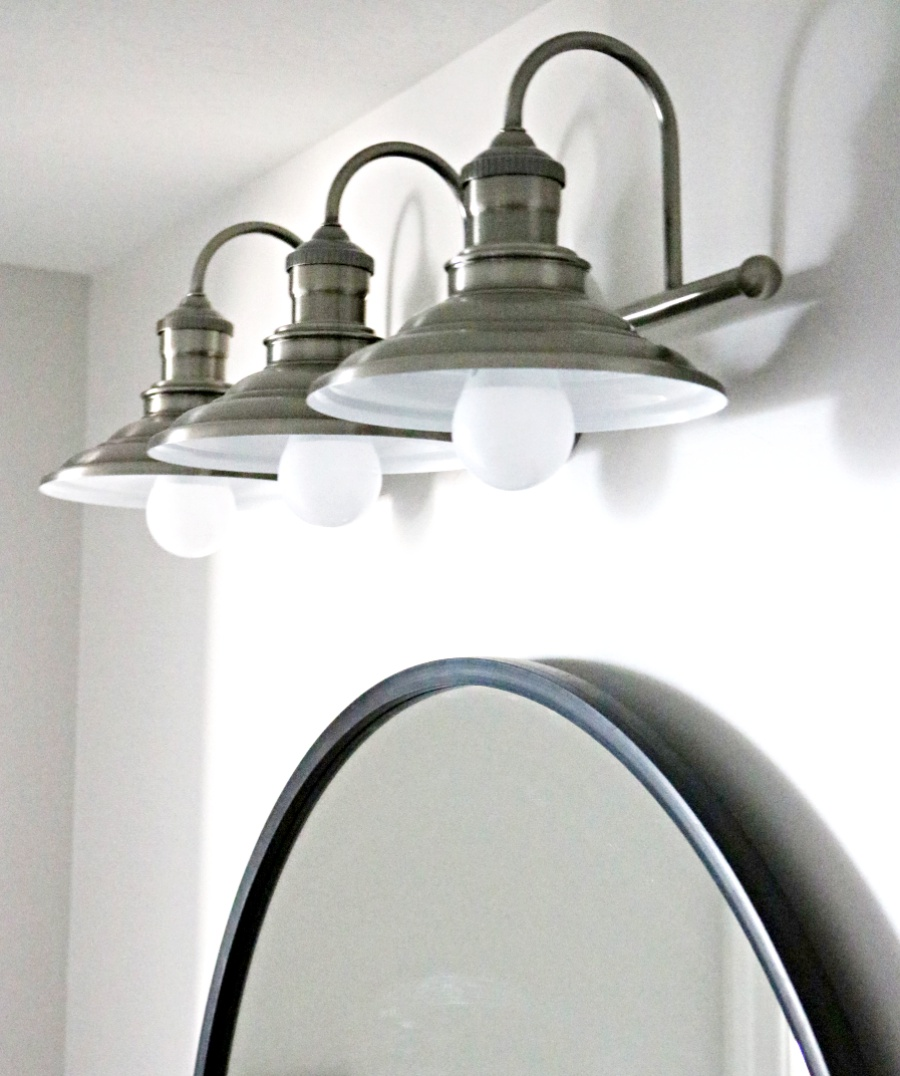 farmhouse light, farmhouse bathroom light