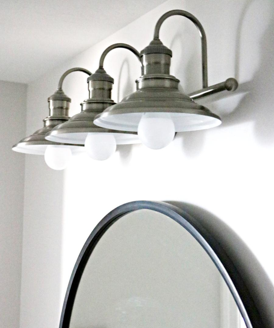 farmhouse light farmhouse bathroom light