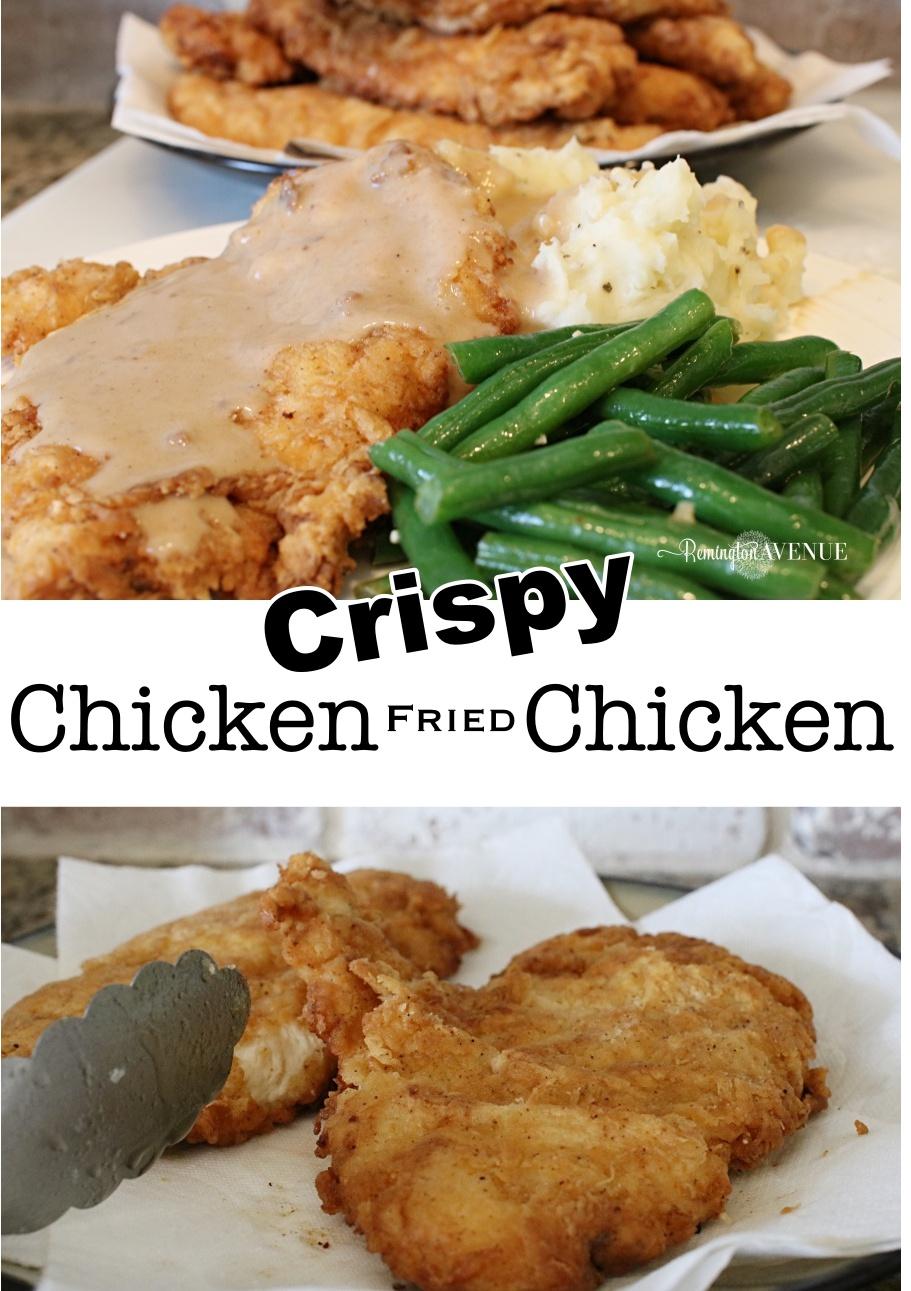 chicken fried chicken recipe