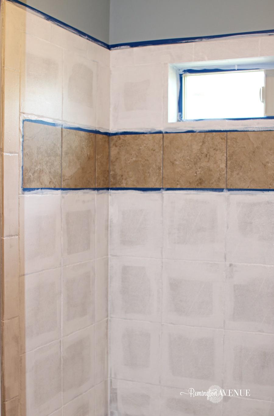 Paint Shower Floor Tiles