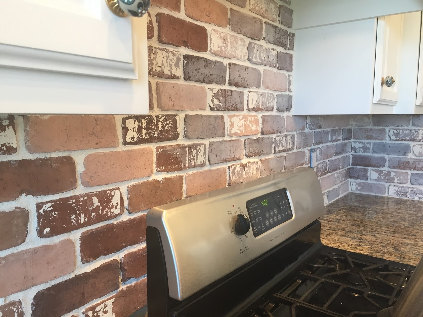 Do it yourself brick veneer backsplash remington avenue dailygadgetfo Gallery