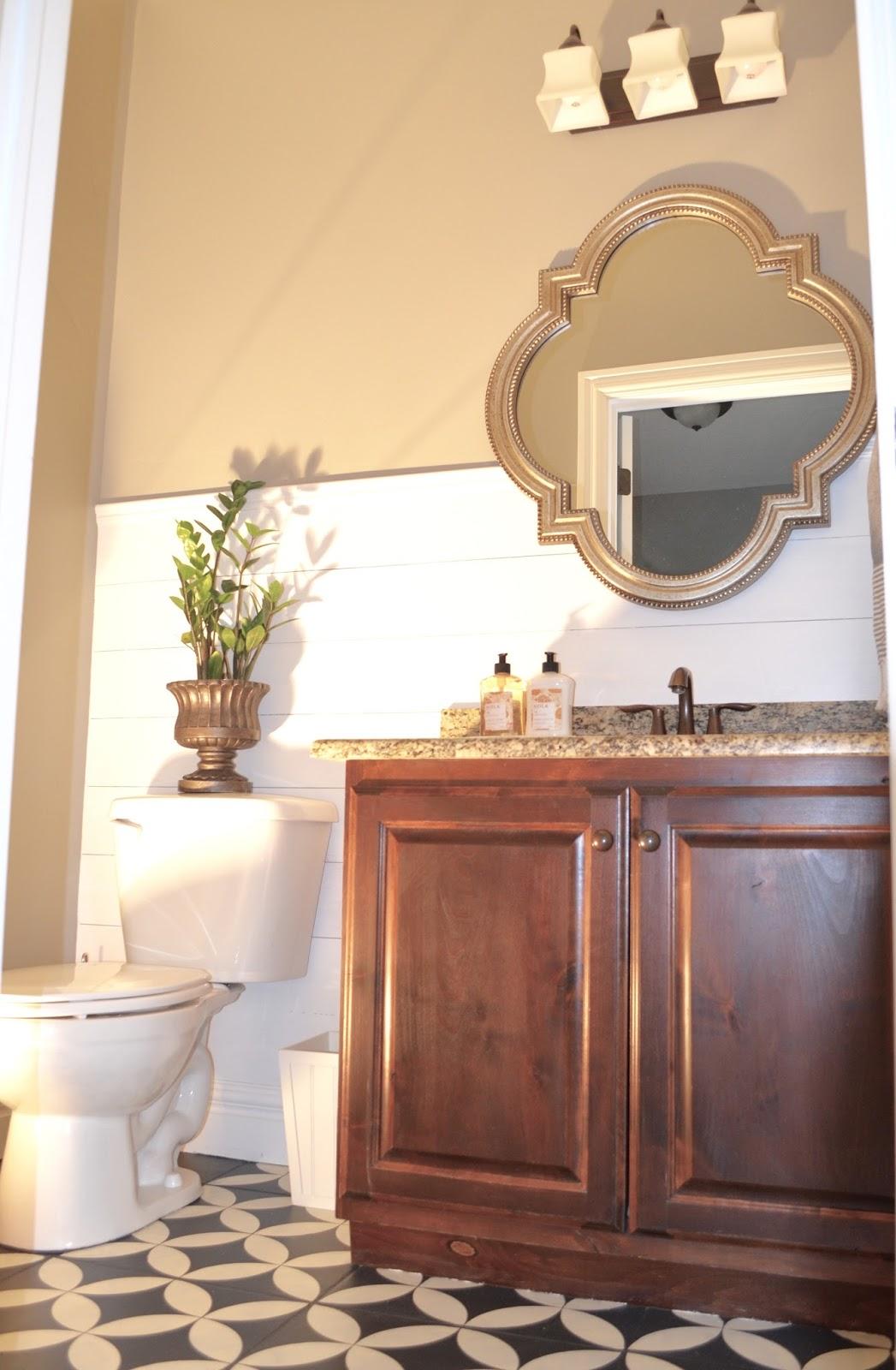 Powder Room Makeover - Remington Avenue