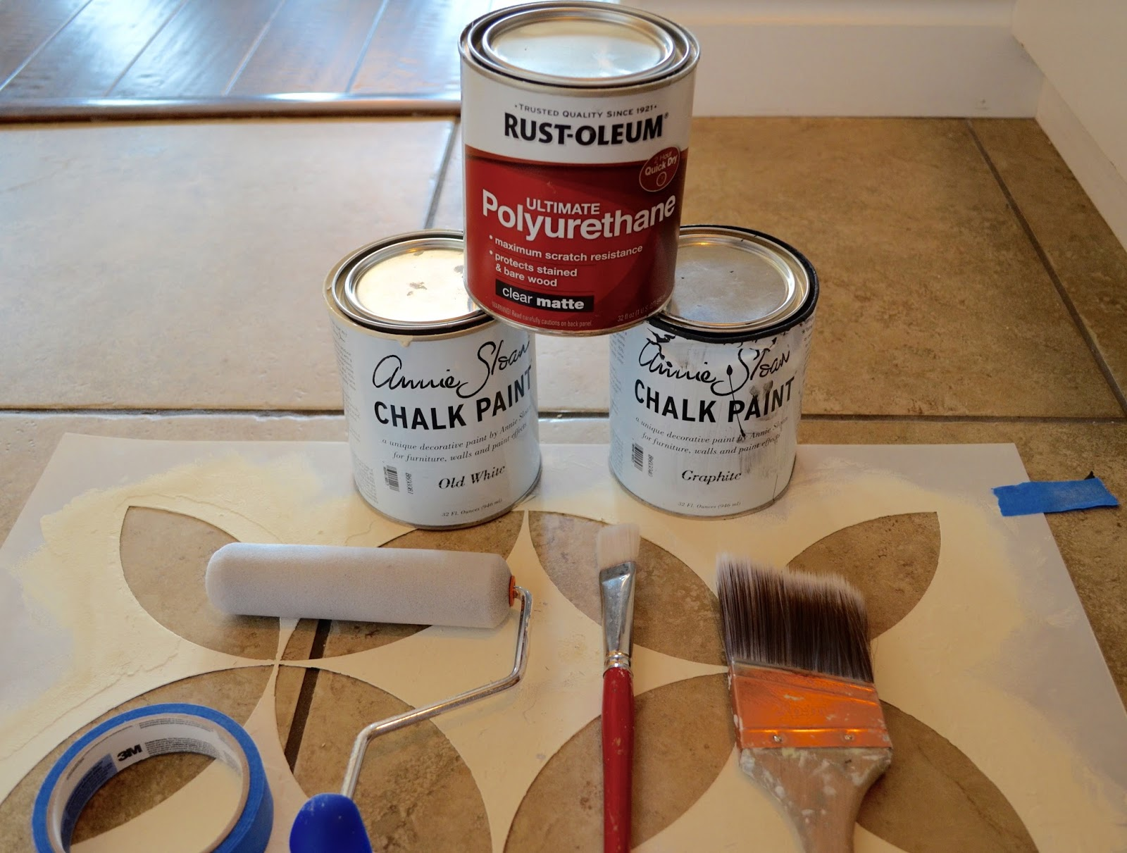 The girl who painted her tile what remington avenue list of supplies dailygadgetfo Gallery