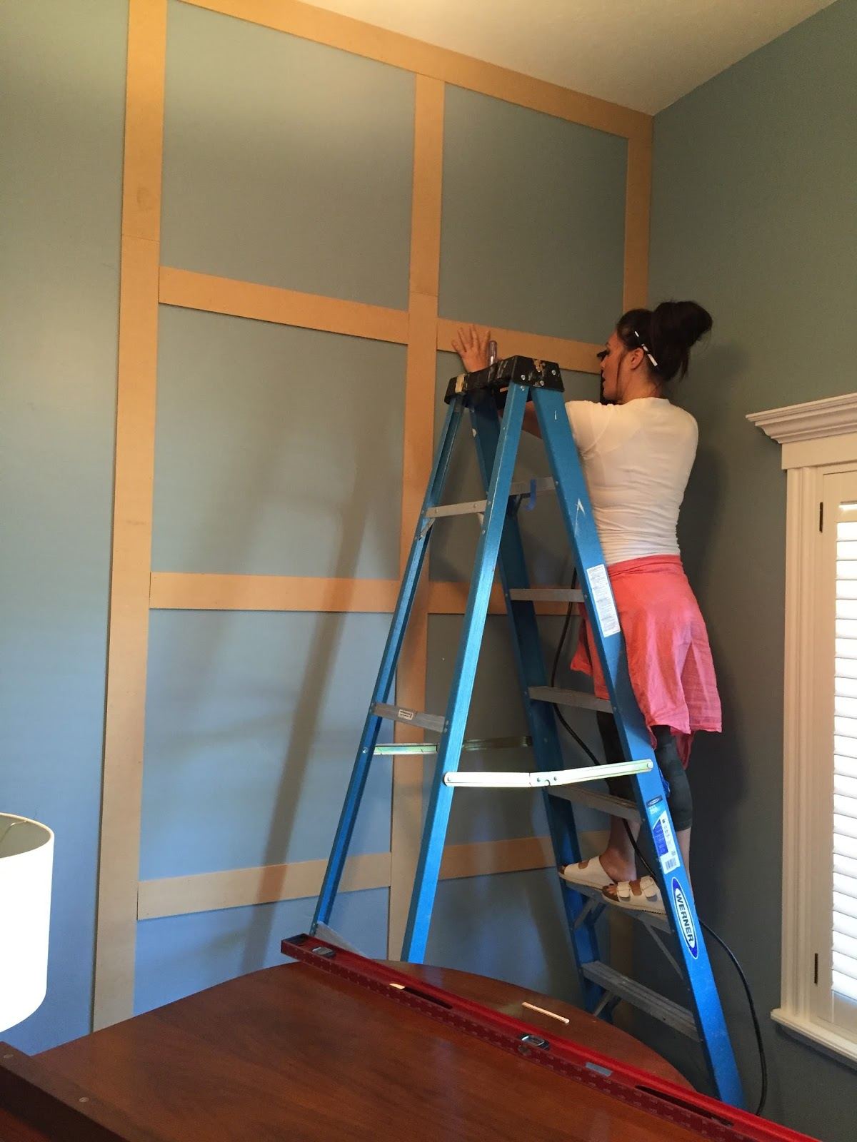 how to the paneled wall decorchick! - HD1200×1600