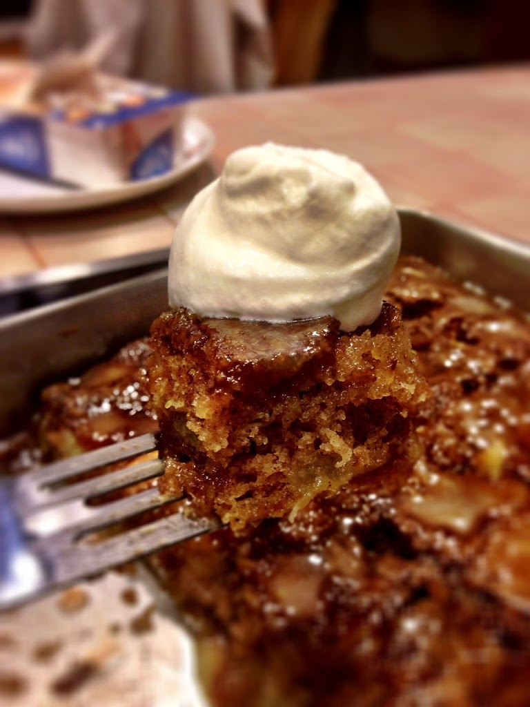 Apple cake with vanilla sauce remington avenue for Best ever apple cake country living
