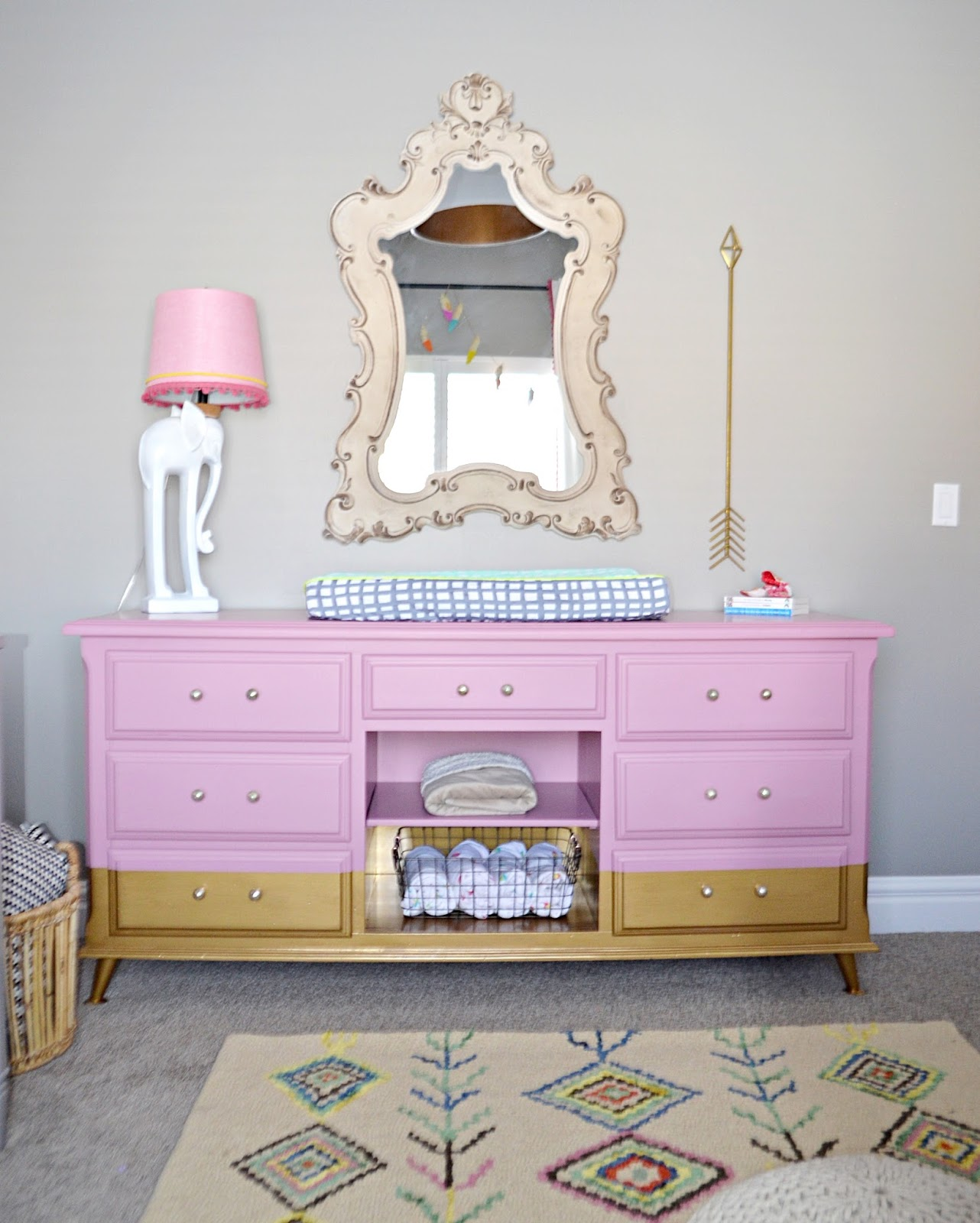 Boho nursery tour remington avenue rockers are a must have in nursery design amipublicfo Images