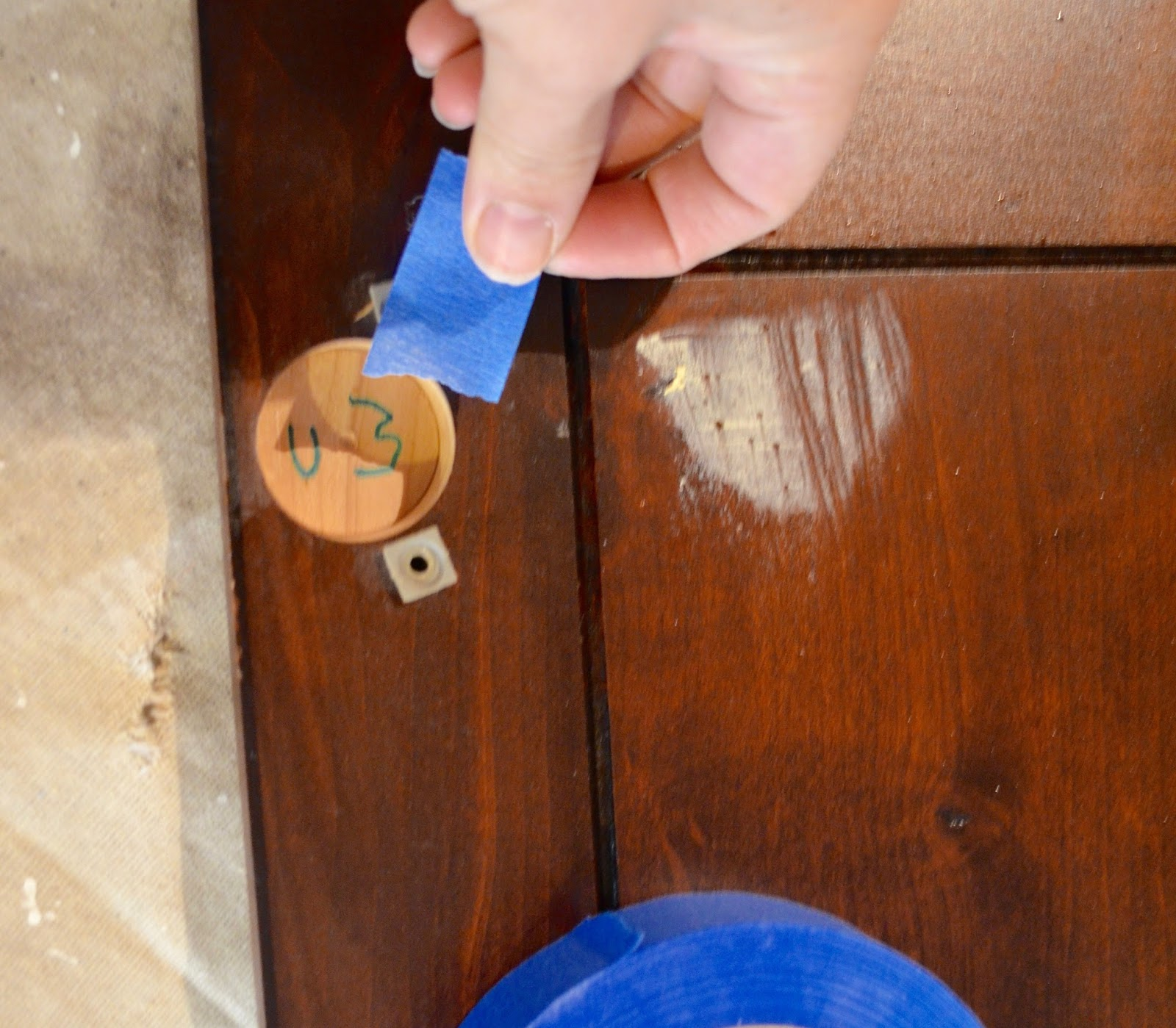 Cleaning Kitchen Cabinets Before Painting: Cleaning Cabinets With Mineral Spirits