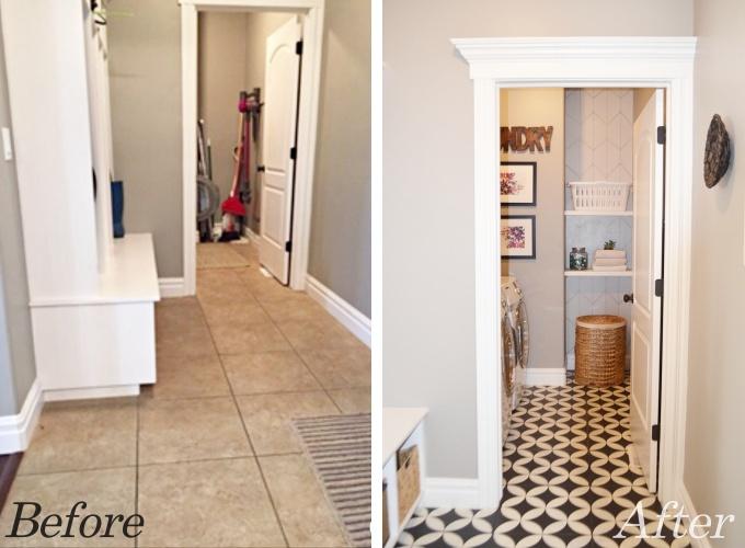 Laundry Room Makeover Using A Sharpie Remington Avenue