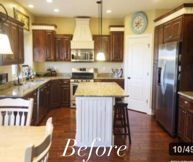 Paint Kitchen Cabinets White Like A Pro: How To Paint Your Kitchen Like The Pro's