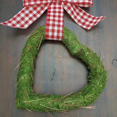 Valentine Moss Wreath