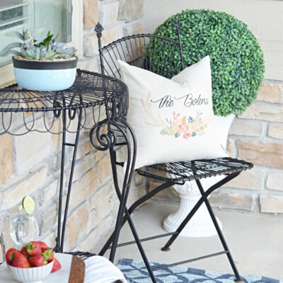 Front Porch Upcycle