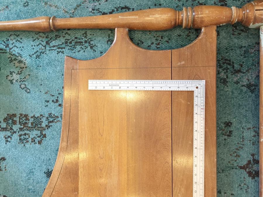 vintage headboard sharpie