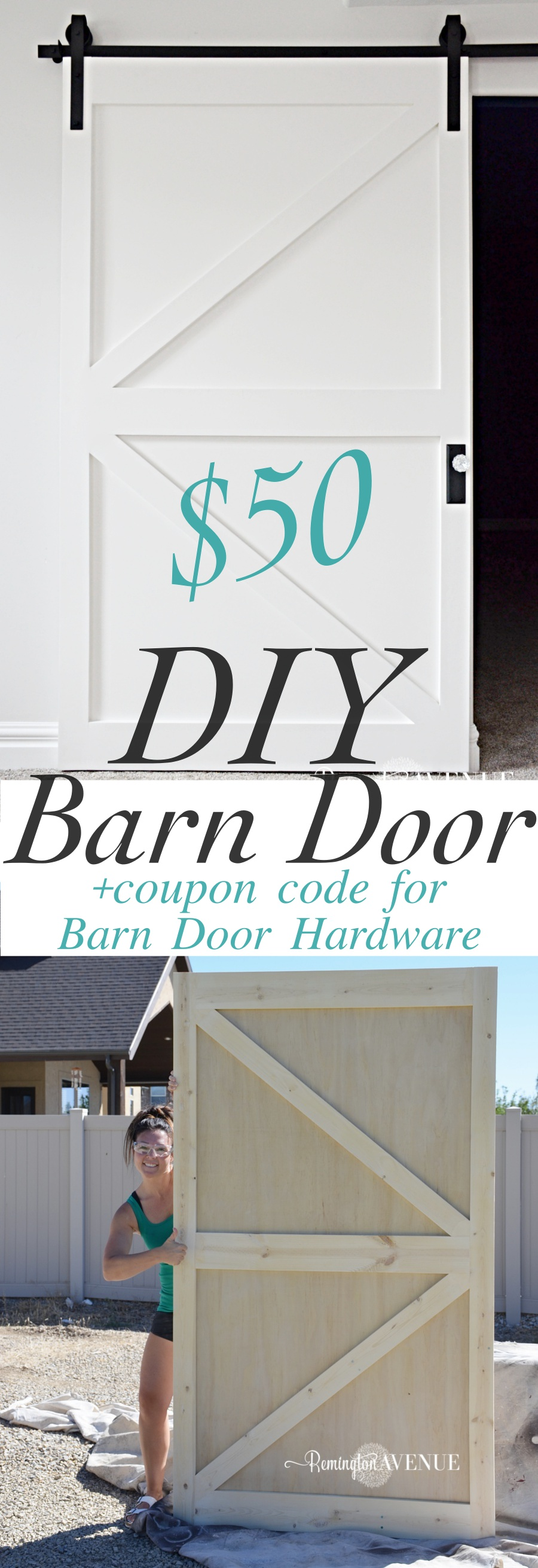 tutorial compete a to build your barn sliding door own diybarndoor barns how diy