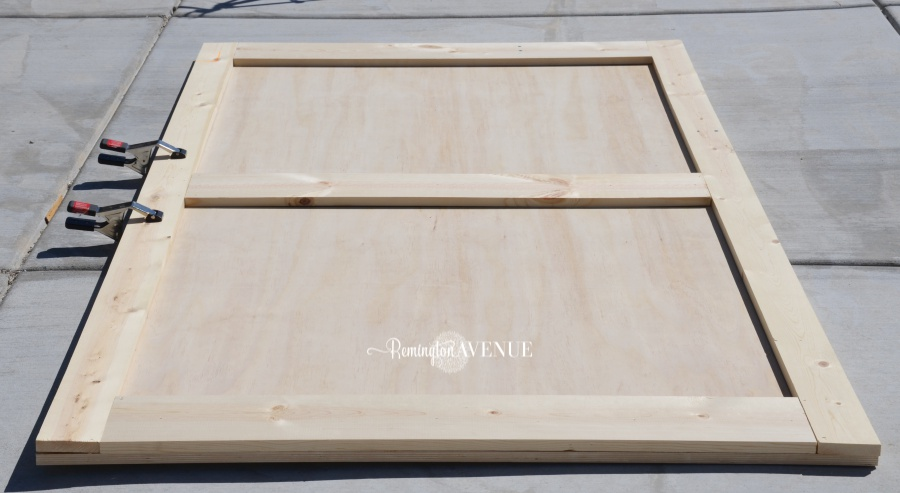 How To Build A Barn Door For 50 3 Remington Avenue