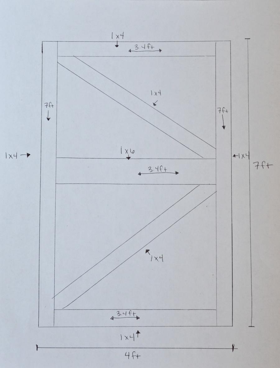 Bon Diy Barn Door Plans