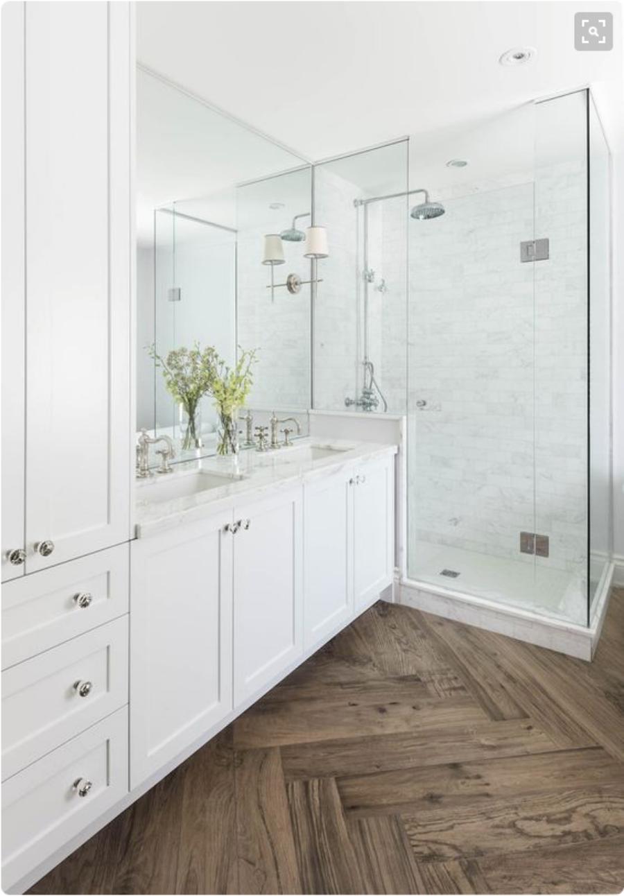 ORC Bright White Master Bathroom makeover - Remington Avenue