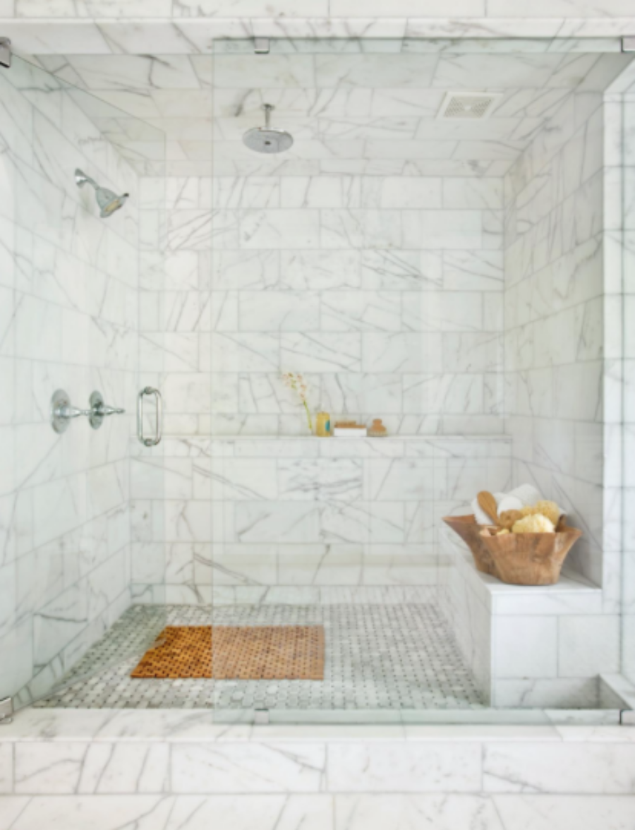 ORC-Week 4: Master Bathroom tile {Designer Style on a budget ...