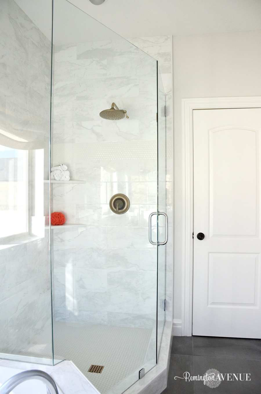 One Room Challenge: Bright White Master Bathroom Final Reveal ...