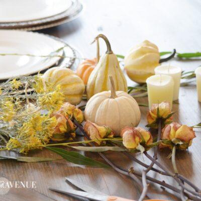3 Easy DIY Thanksgiving or Fall Centerpieces