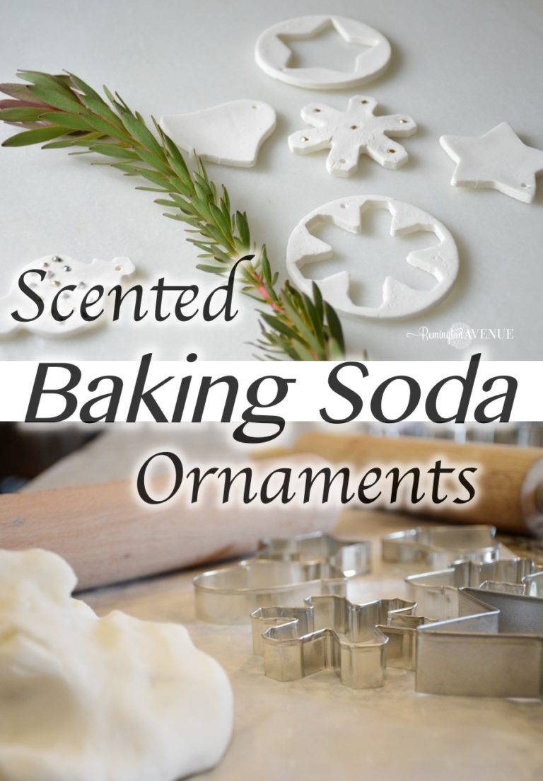 Scented Baking Soda Dough Ornaments