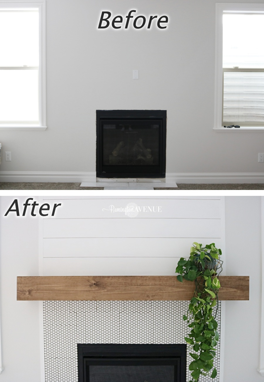 Here S How To Build Your Own Wood Mantel