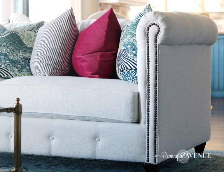 Living Room Design Board & New Sofa Reveal