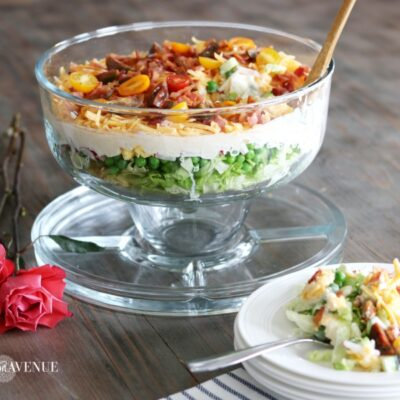 Layered salad – Mother's Day Favorite