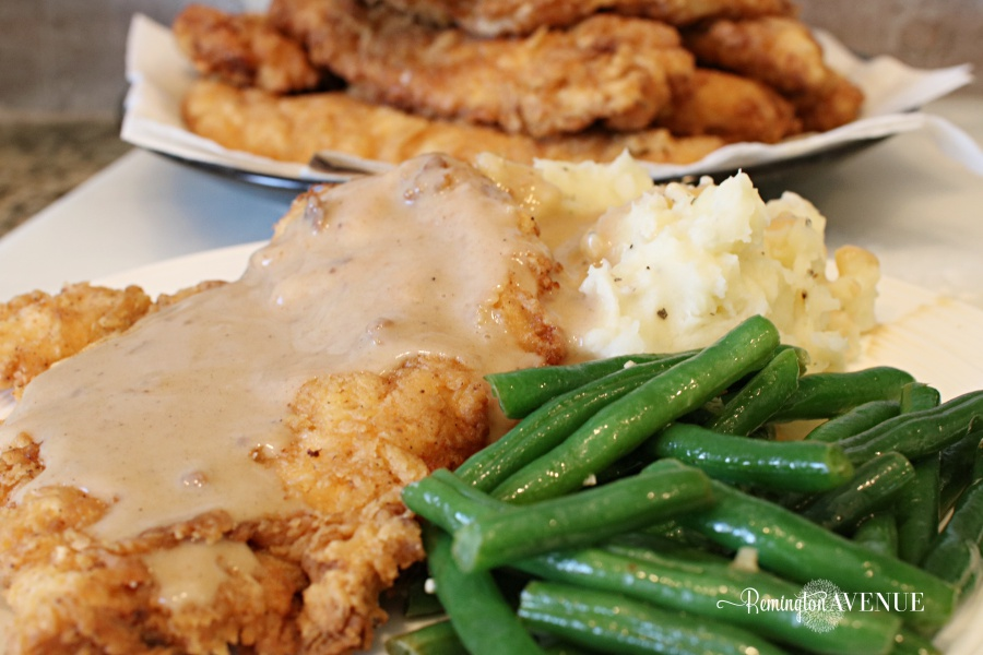 country fried chicken recipe. Just like they do it in the south