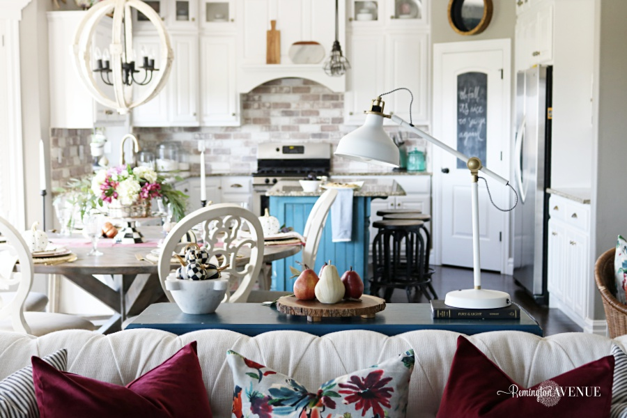 Cozy Colorful Fall Home Tour