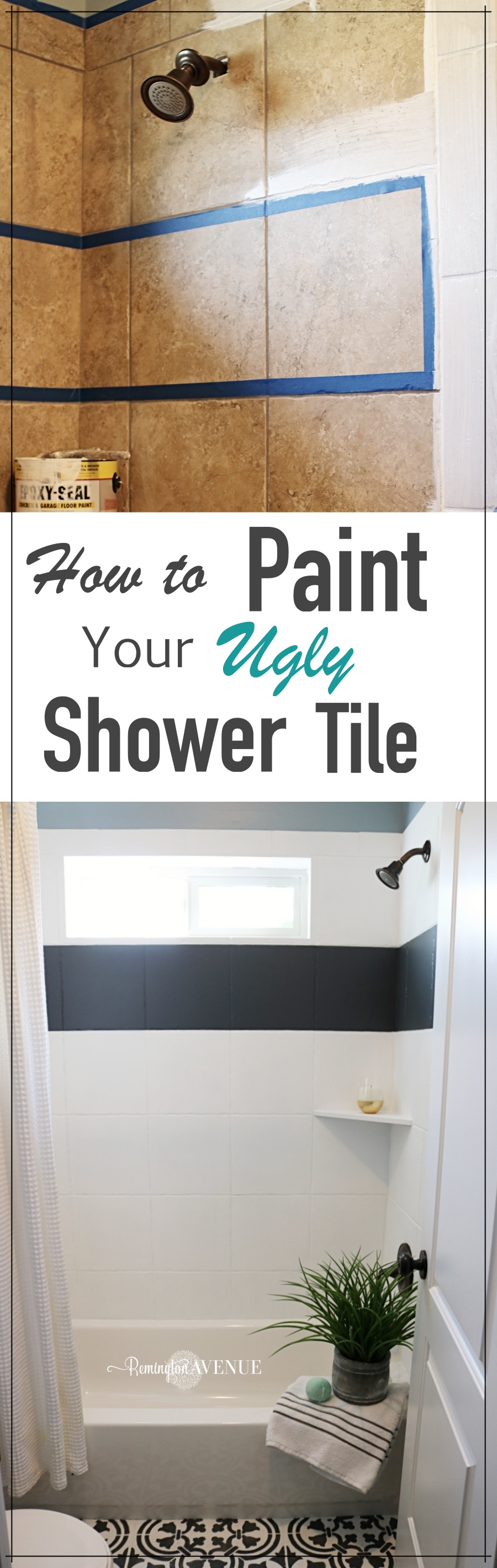 how to paint shower tile remington avenue 23936