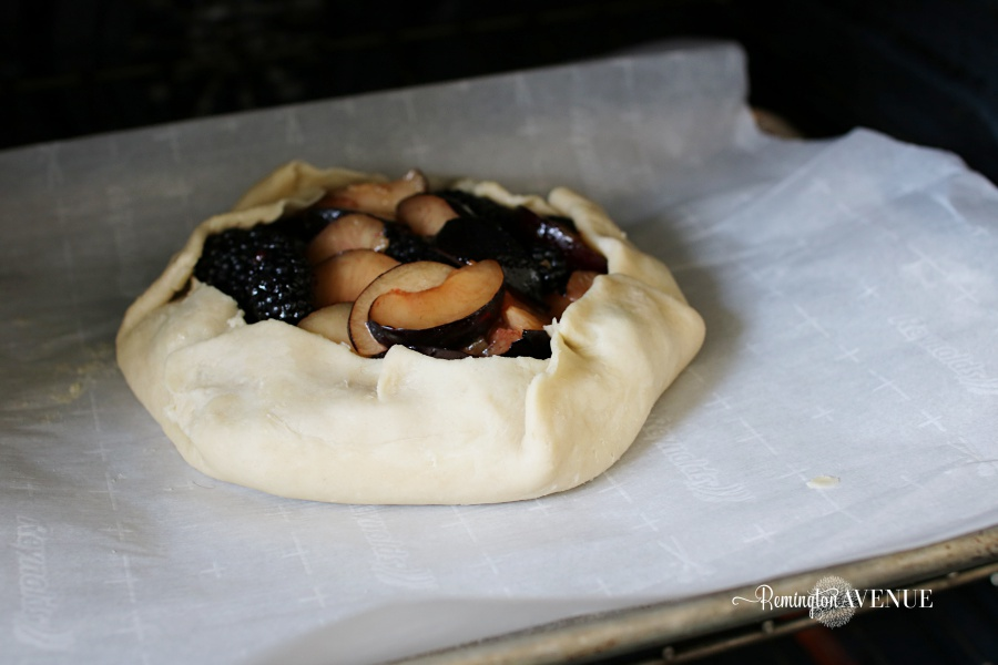 plum, blackberry rustic tart-falll recipes/desserts