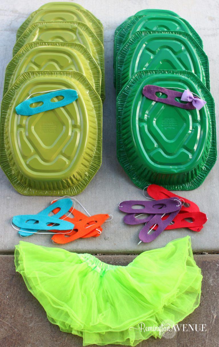 Thrifty Teenage Mutant Ninja Turtle Costumes