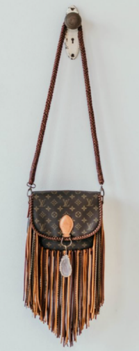 ith this Louis Vuitton vintage boho