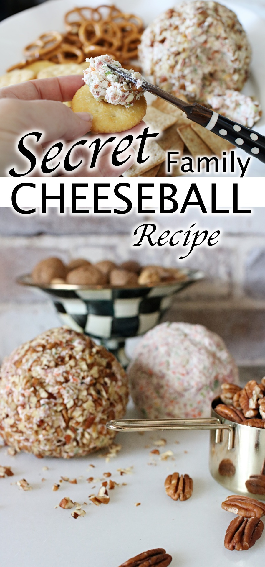 Creamy Cheeseball- Secret family recipe revealed