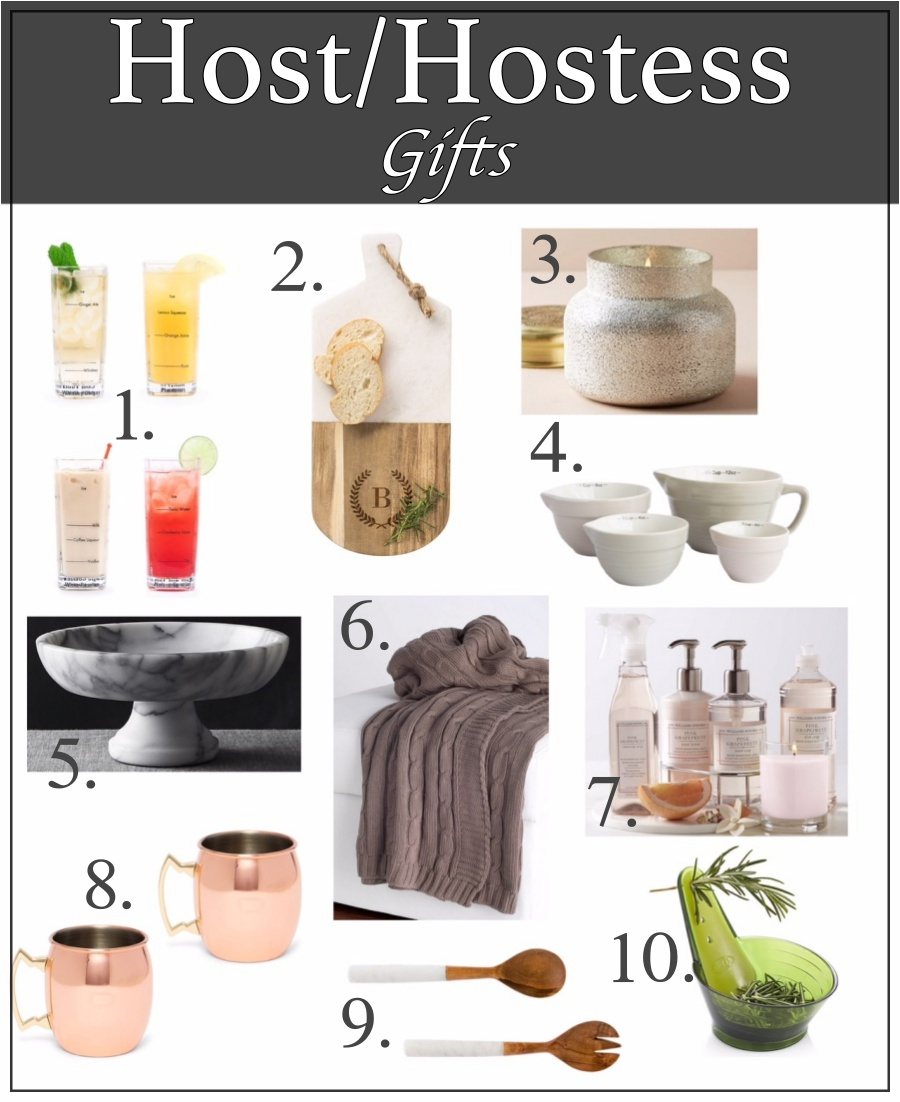 Holiday gifts for everyone- Host/Hostess gifts