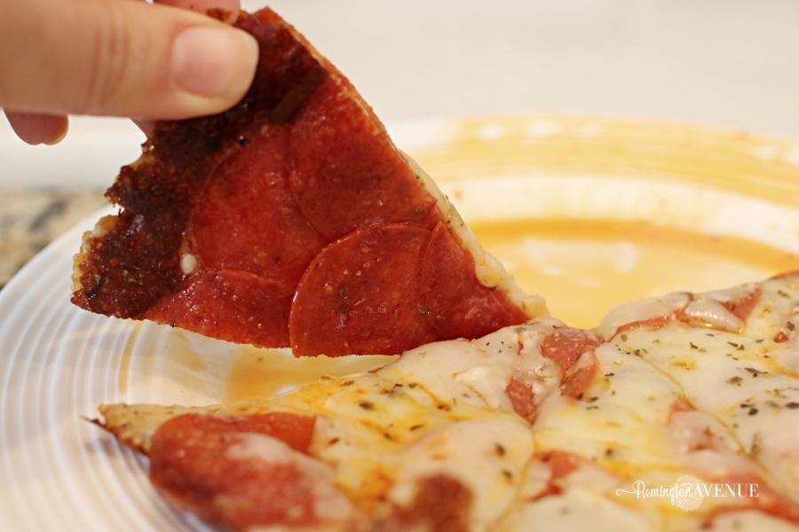 10 minute ketongenic pizza hack
