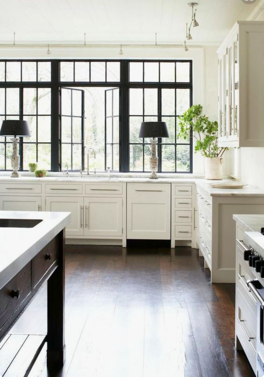 Black Steel windows- the look for less