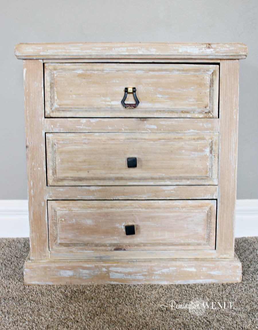 easy bleached wood furniture