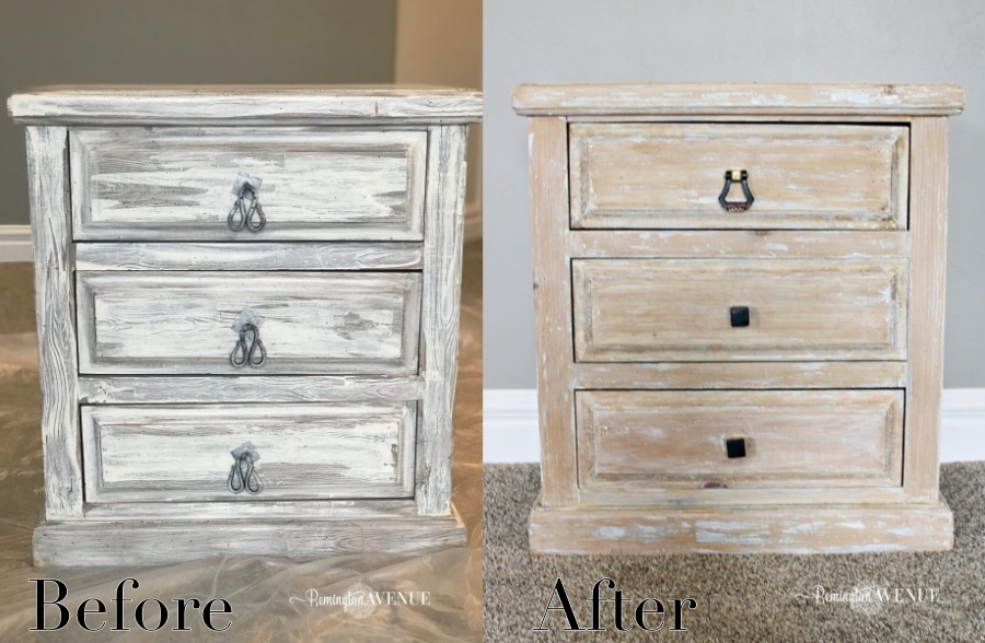bleached wood furniture
