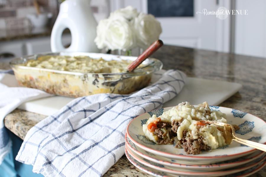 Ketogenic low carb comfort food- Shepards Pie Recipe